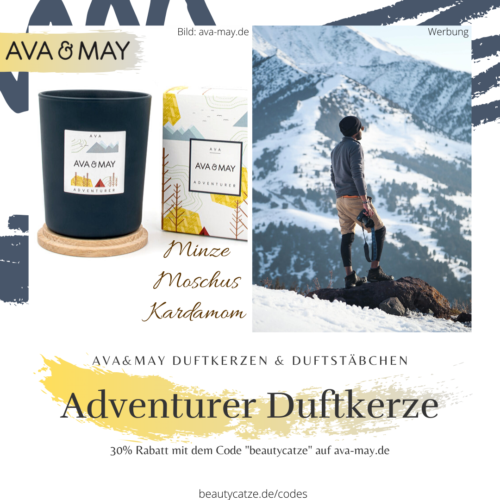 AVA and MAY Adventurer AVA Duftkerzen Erfahrungen avamay Kerzen beautycatze
