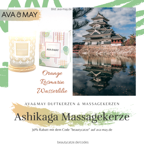 AVA and MAY Ashikaga Massakerzen Duftkerzen Erfahrungen avamay beautycatze