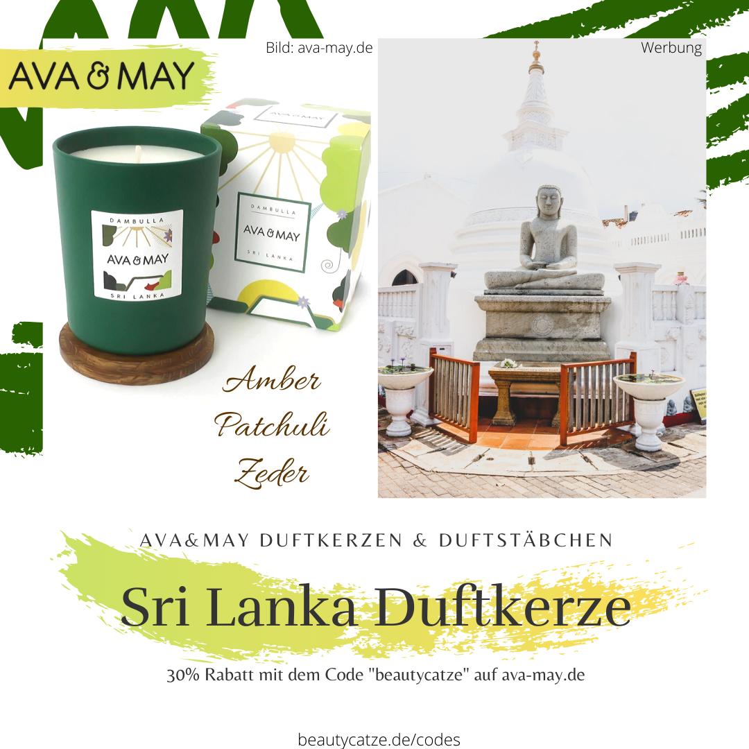 AVA and MAY Dambulla Duftkerzen Erfahrungen Sri Lanka avamay Kerzen beautycatze