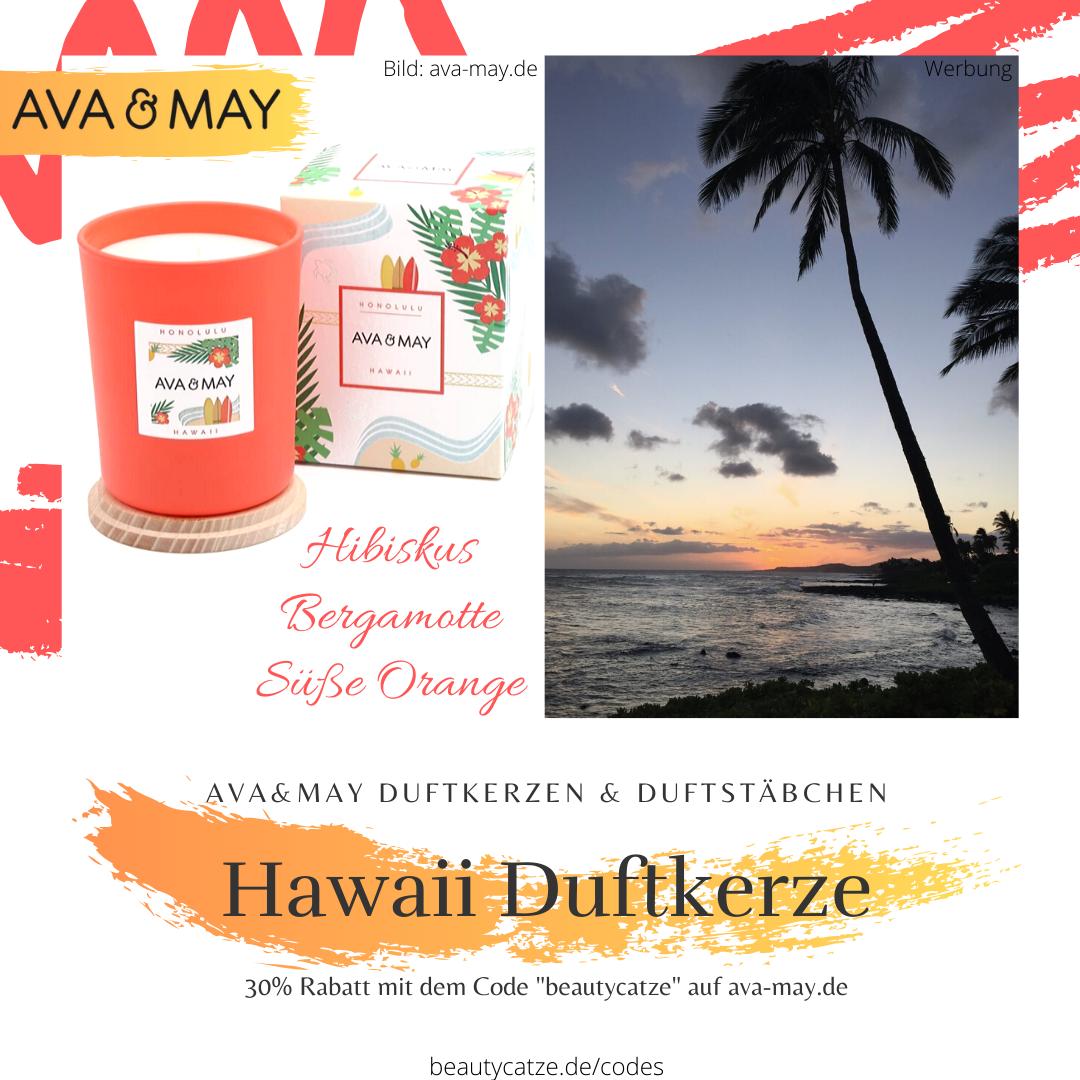 AVA and MAY Hawaii Honolulu Duftkerzen Erfahrungen avamay Kerzen beautycatze