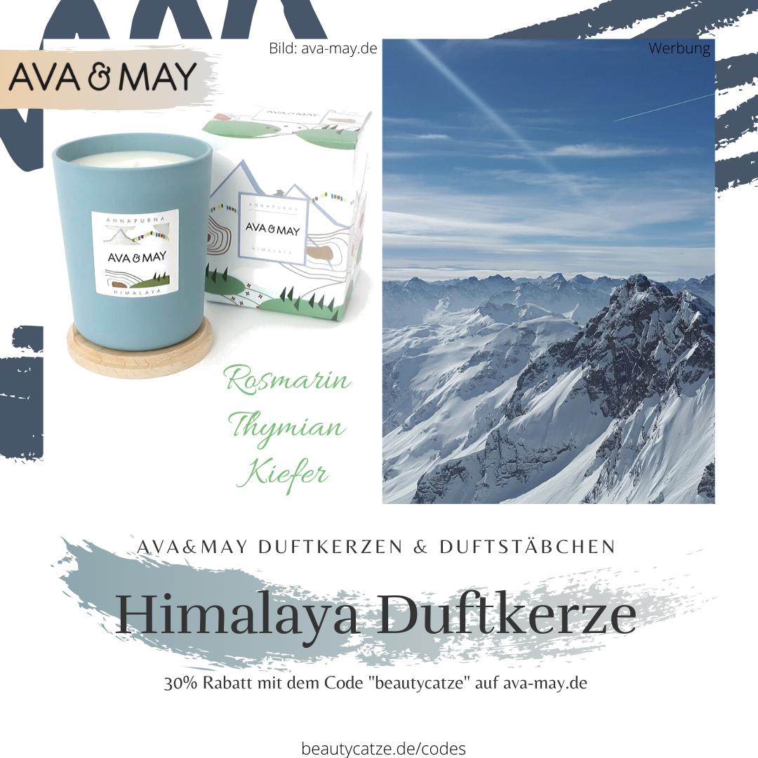 AVA and MAY Himalaya Annapurna Duftkerzen Erfahrungen avamay Kerzen beautycatze