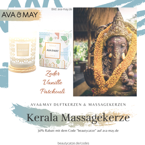 AVA and MAY Kerala Massakerzen Duftkerzen Erfahrungen avamay beautycatze