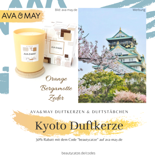 AVA and MAY Kyoto Duftkerzen Erfahrungen Japan avamay Kerzen beautycatze