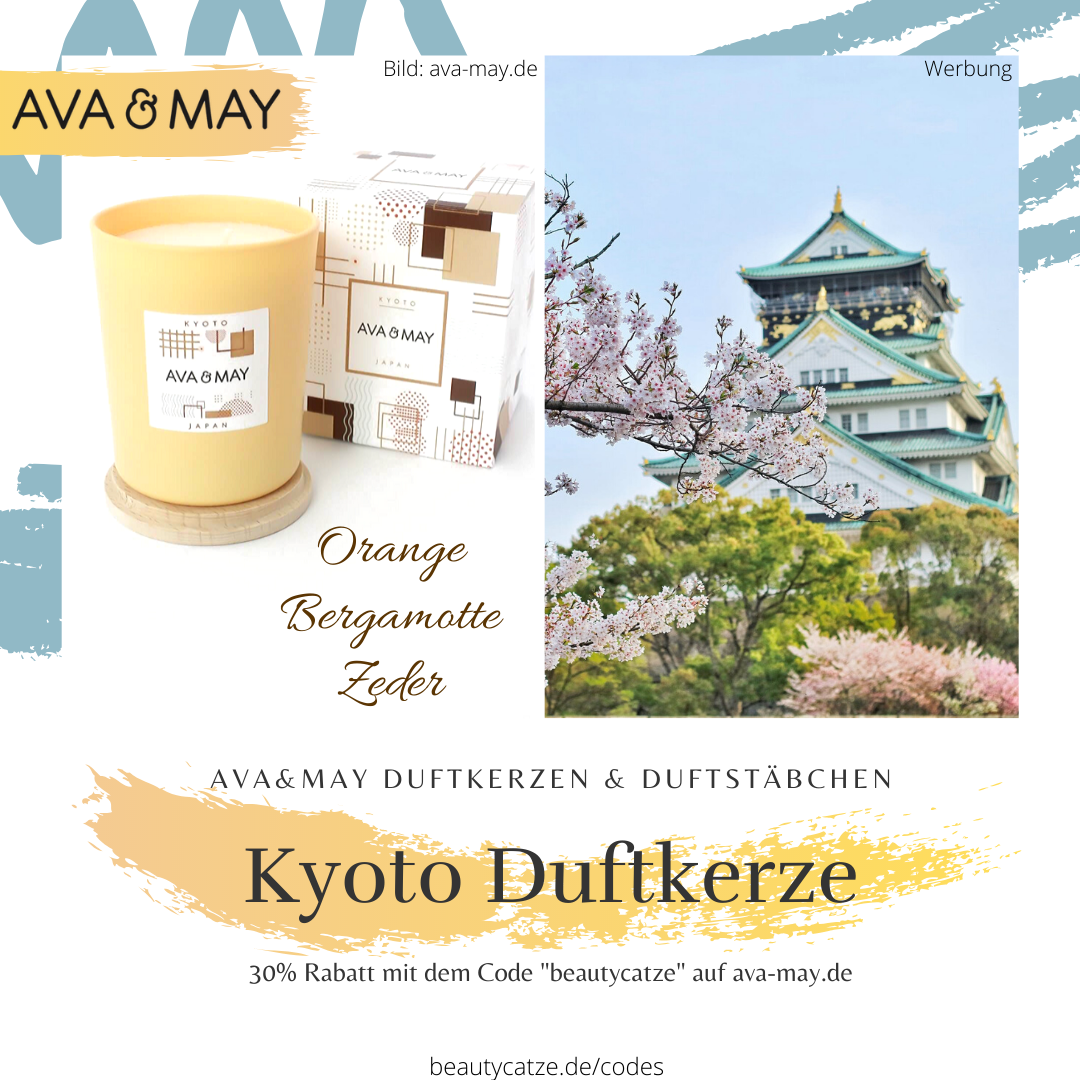 AVA and MAY Kyoto Duftkerzen Erfahrungen Japan avamay Kerzen beautycatze