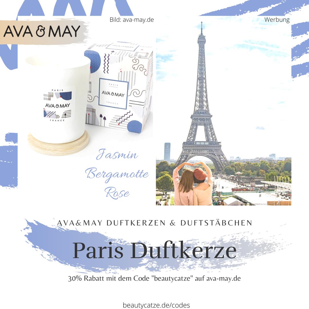 AVA and MAY Paris France Duftkerzen Erfahrungen avamay Kerzen beautycatze