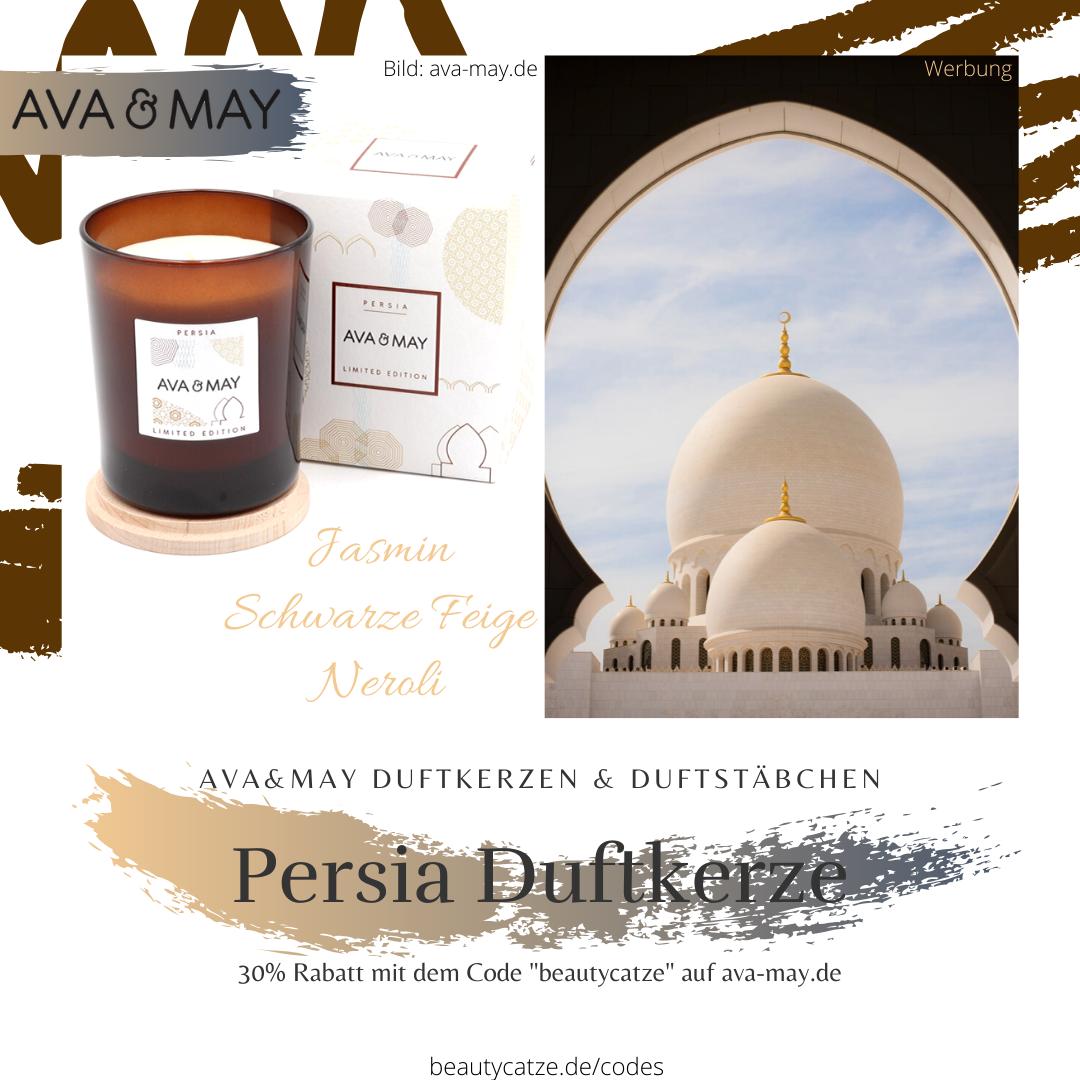 AVA and MAY Persia Duftkerzen Erfahrungen avamay Kerzen beautycatze