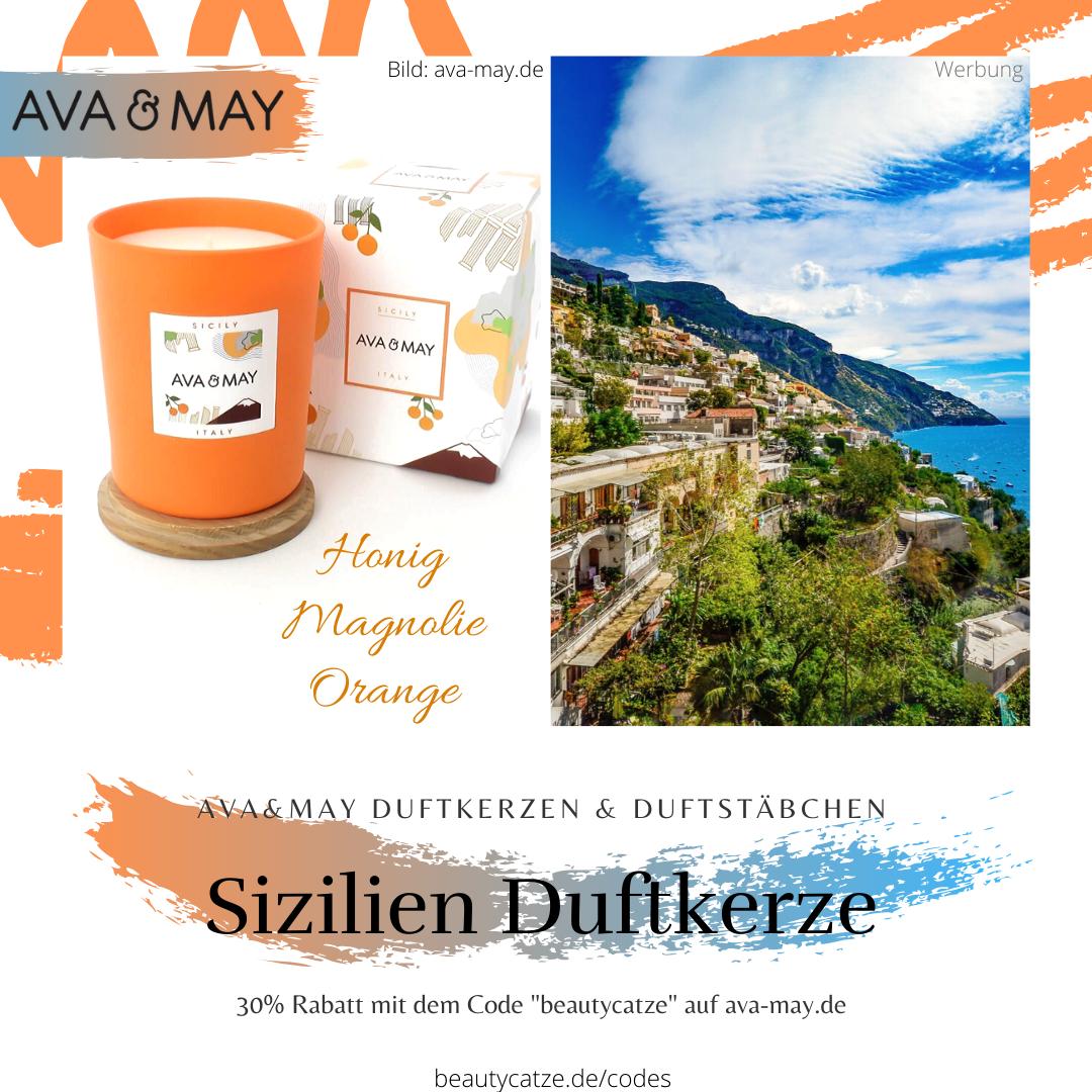 AVA and MAY Sizilien Duftkerzen Erfahrungen Italien avamay Kerzen beautycatze