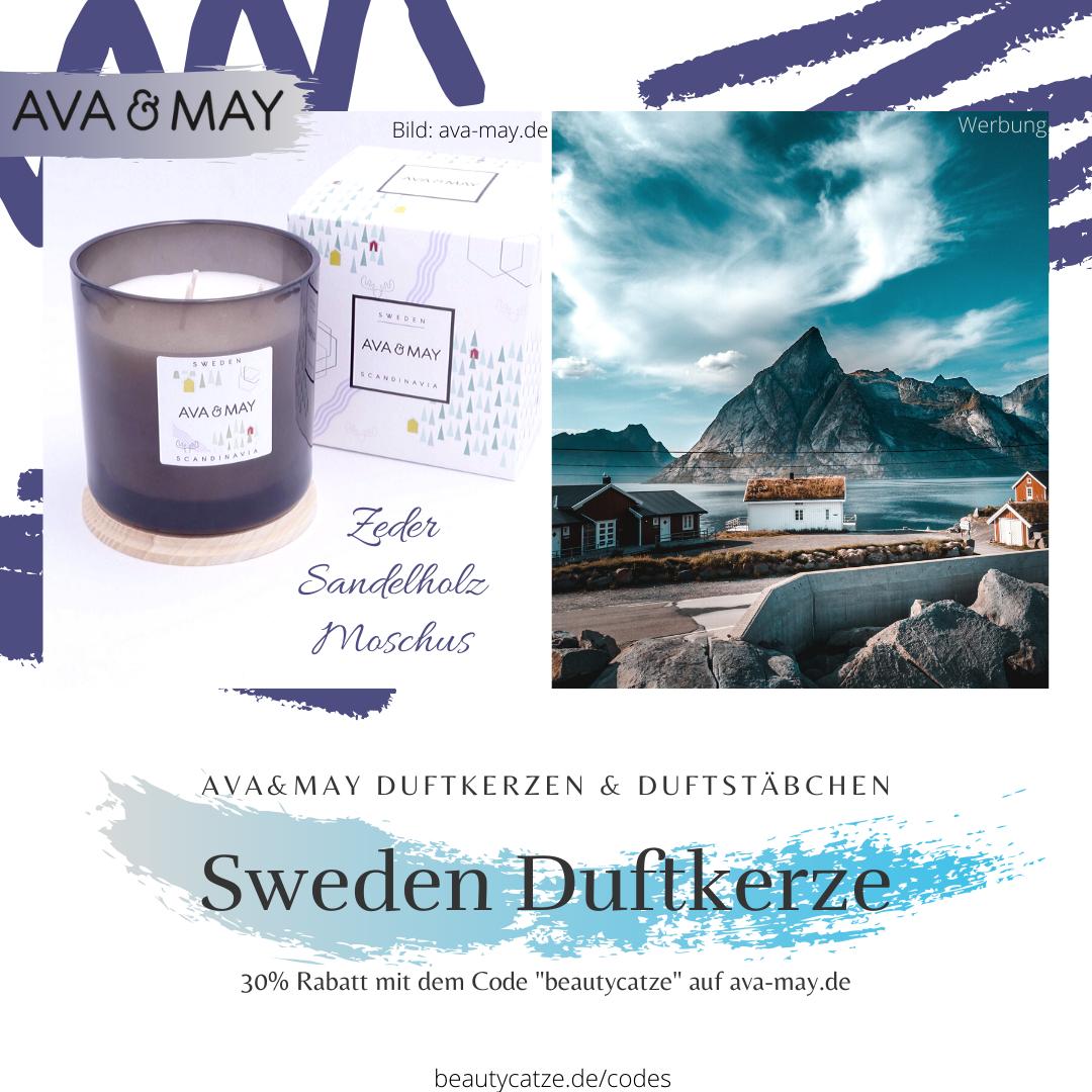 AVA and MAY Sweden Duftkerzen Erfahrungen Schweden avamay Kerzen beautycatze