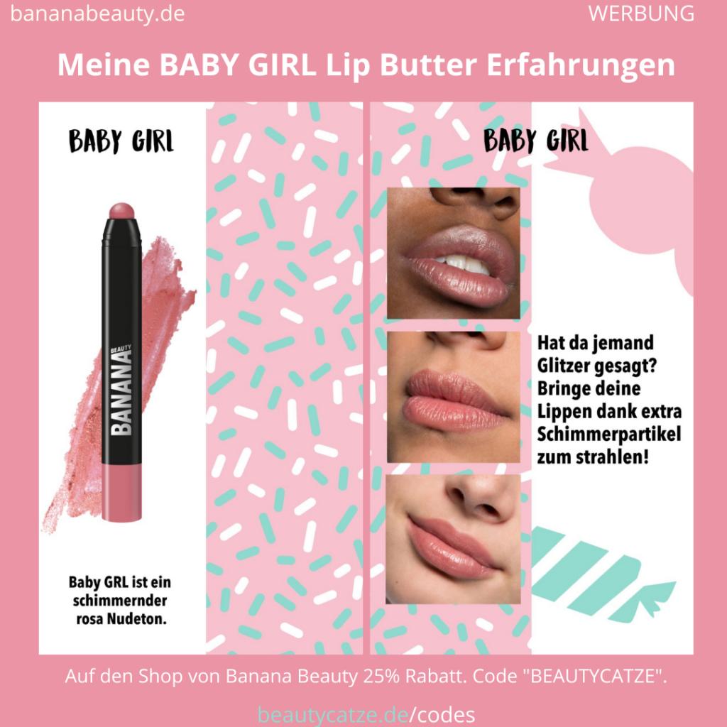 Banana Beauty BABY GIRL Lip Butter Erfahrungen Beautycatze