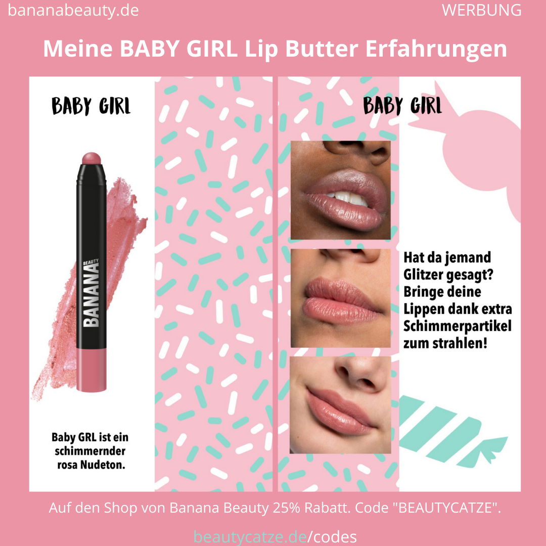 Banana Beauty BABY GIRL Lip Butter Erfahrungen Beautycatze