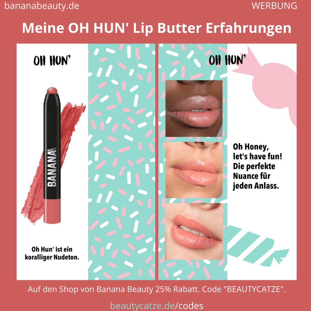Banana Beauty OH HUN Lip Butter Erfahrungen Beautycatze