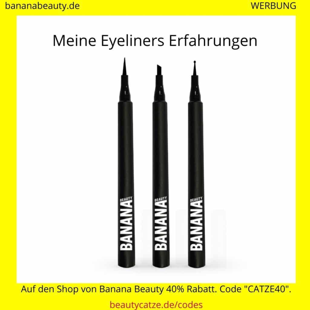 Banana Beauty Erfahrungen Eyeliners beautycatze