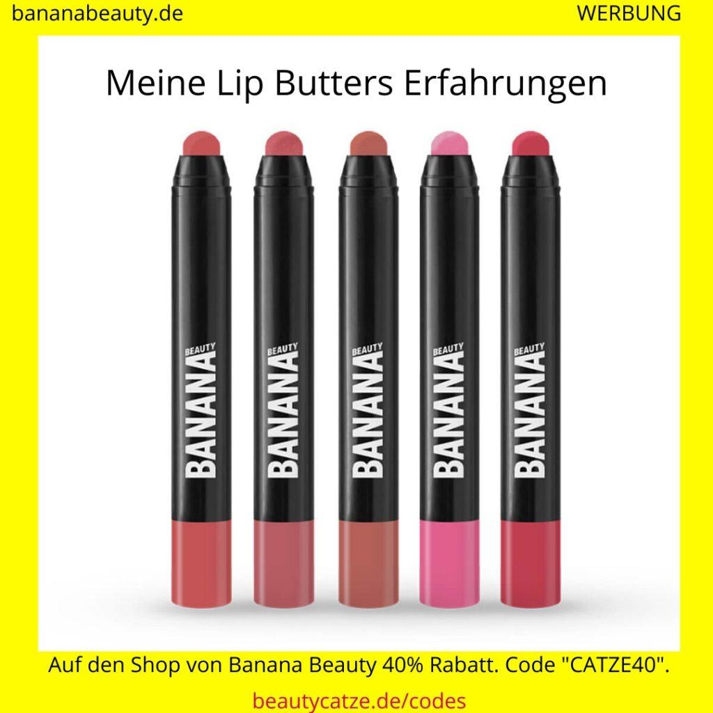 Banana Beauty Erfahrungen Lip Butters beautycatze