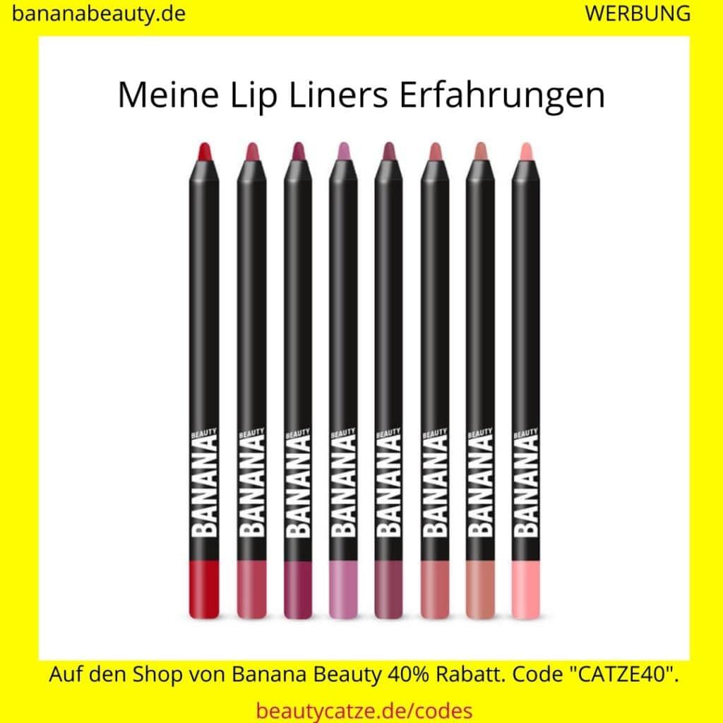 Banana Beauty Erfahrungen Lip Liners beautycatze