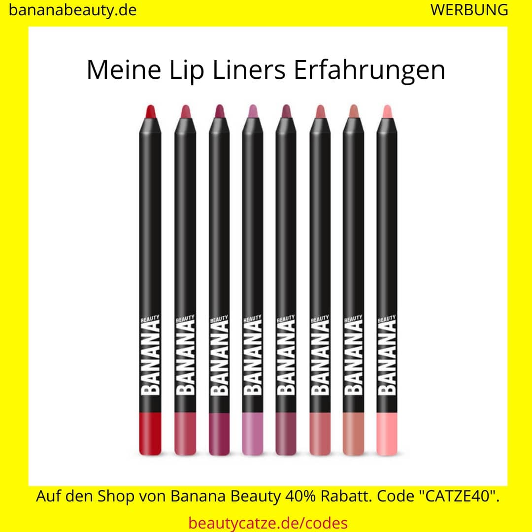 Banana Beauty Erfahrungen Lip Liners beautycatze