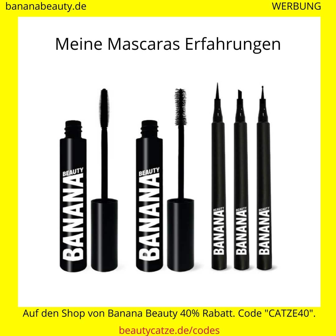 Banana Beauty Erfahrungen Mascaras beautycatze