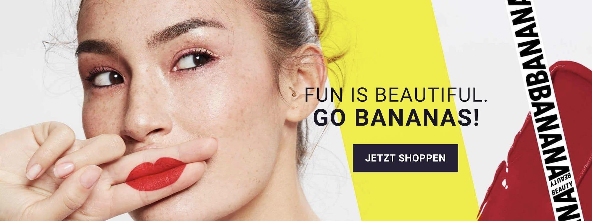 Banana Beauty Produkte kaufen Liquid Lipsticks Lipliner