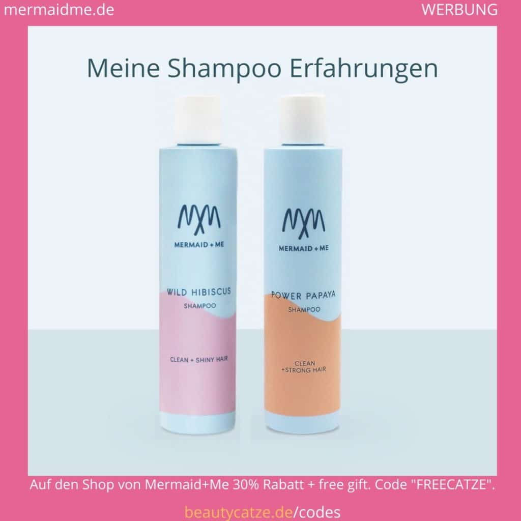 Mermaid Me Erfahrungen Haar Hair Shampoo beautycatze