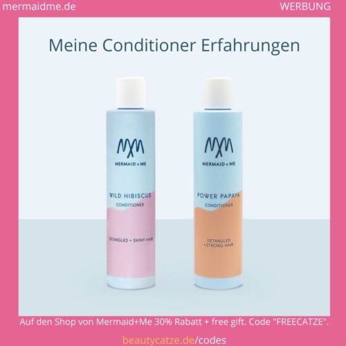 Mermaid Me Erfahrungen Haar Spülung Hair Conditioner beautycatze