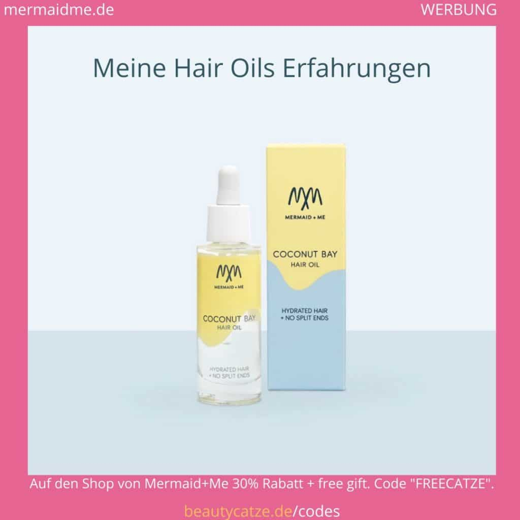 Mermaid Me Erfahrungen Hair Oils Haaröle beautycatze