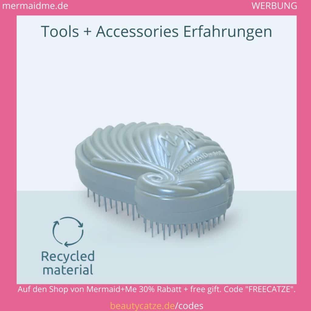 Mermaid Me Erfahrungen Zubehör Bürste Brush Tools beautycatze