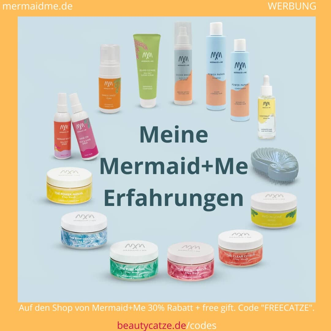 Mermaid+Me Erfahrungen, Bewertung der Hair Masks, Hair Sprays, Hair Oils und Influencer Rabattcodes