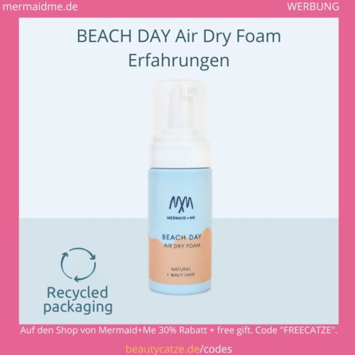 Beach Day Air Dry Foam Mermaid Me Erfahrungen
