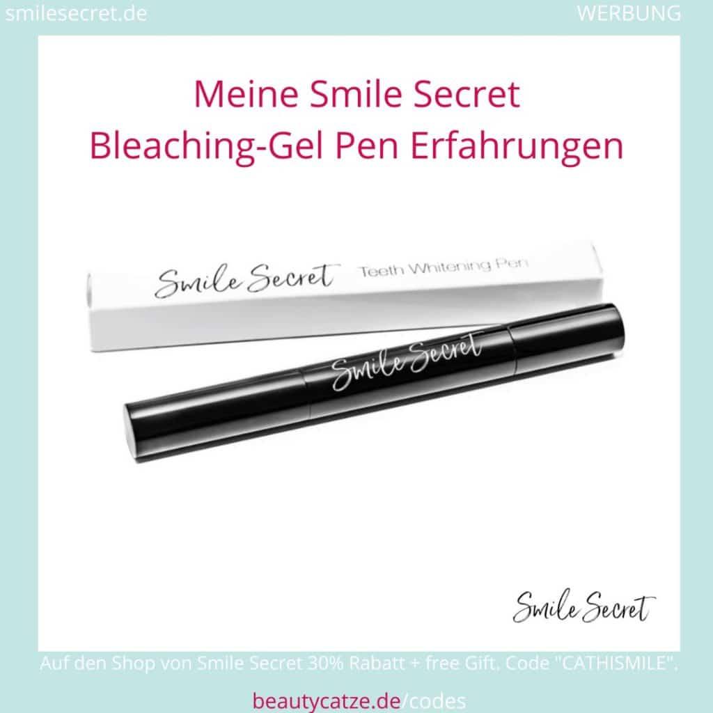 Smile Secret Erfahrungen Gel LED PhoneBleaching beautycatze