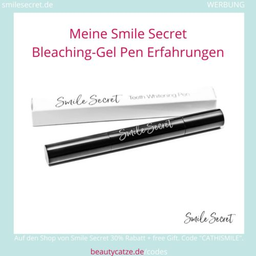Smile Secret Erfahrungen Gel LED PhoneBleaching beautycatze