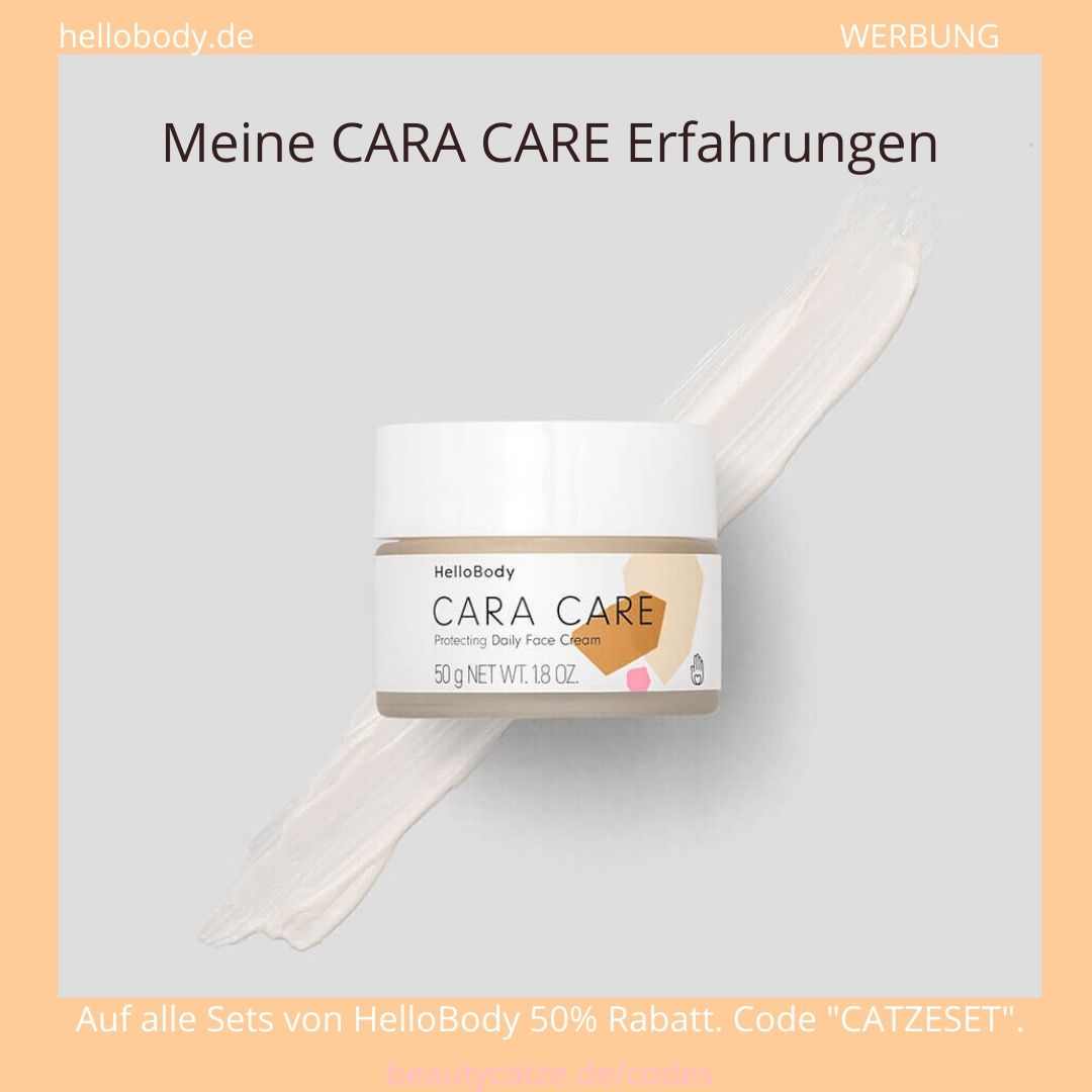 Hello Body CARA CARE Tagescreme Erfahrungen Daily Face Cream beautycatze