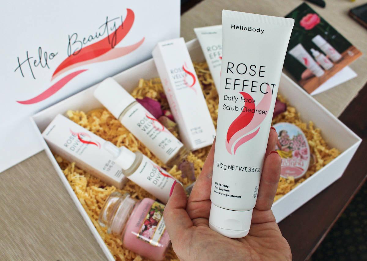 Hello Body Rose EFFECT Peeling Erfahrungen beautycatze