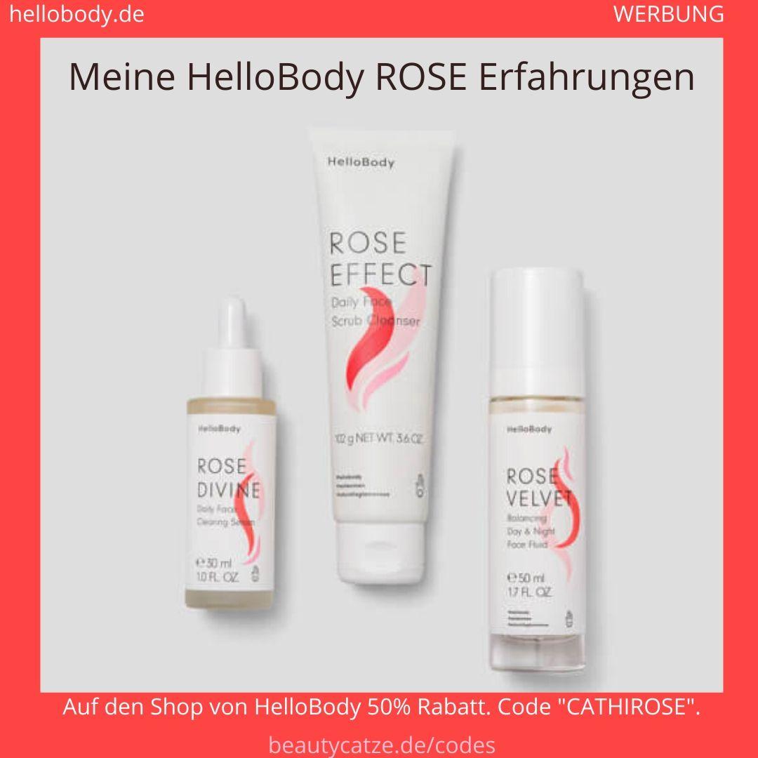 Hello Body Rose Face Trio Set Erfahrungen