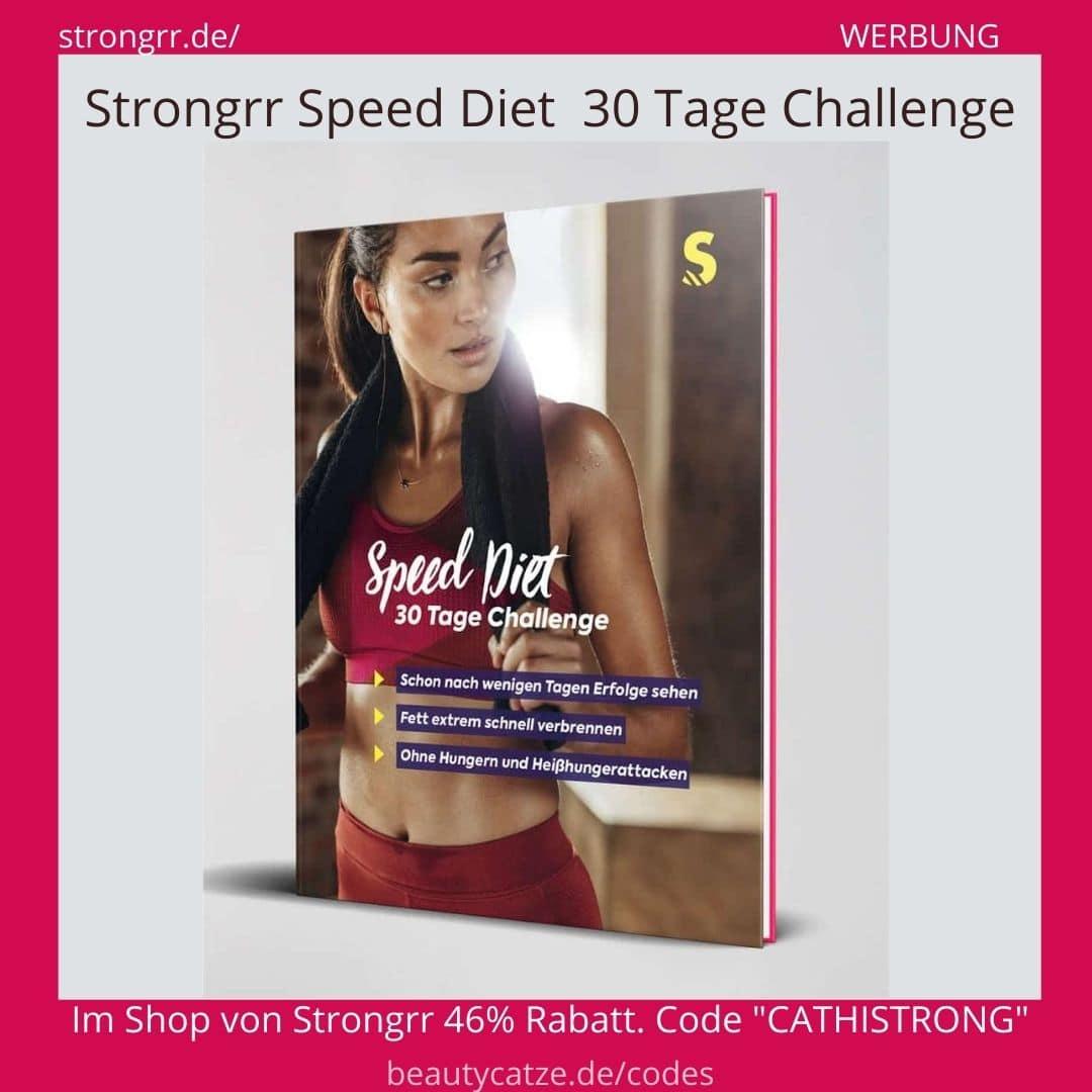 SPEED DIET 30 Tage Challenge STRONGRR Erfahrungen - Speed Diät Buch
