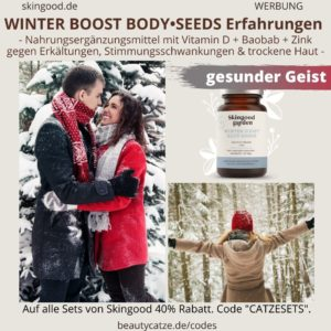 WINTER BOOST Body Seeds Skingood Garden Erfahrungen gesunden Körper Geist Winter