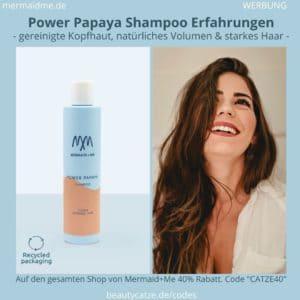 Mermaid and Me Power Papaya Shampoo Erfahrungen Bewertungen