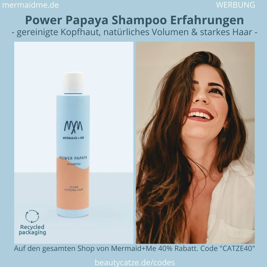 Mermaid and Me Power Papaya Shampoo Erfahrungen Bewertungen