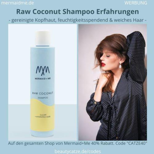 Mermaid and Me Raw Coconut Shampoo Erfahrungen Bewertungen
