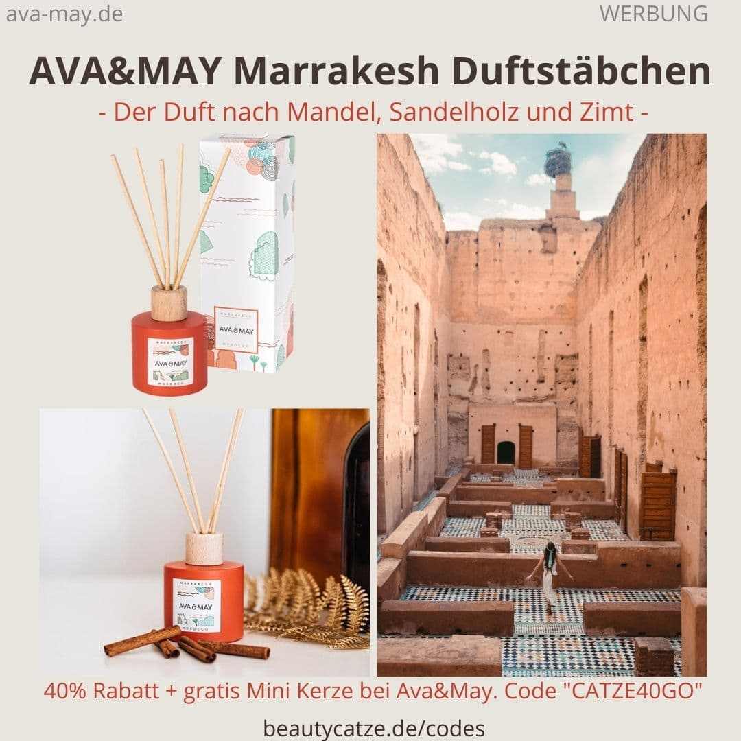 MARRAKESH Morocco 100ml Duftstäbchen AVA and MAY Erfahrungen