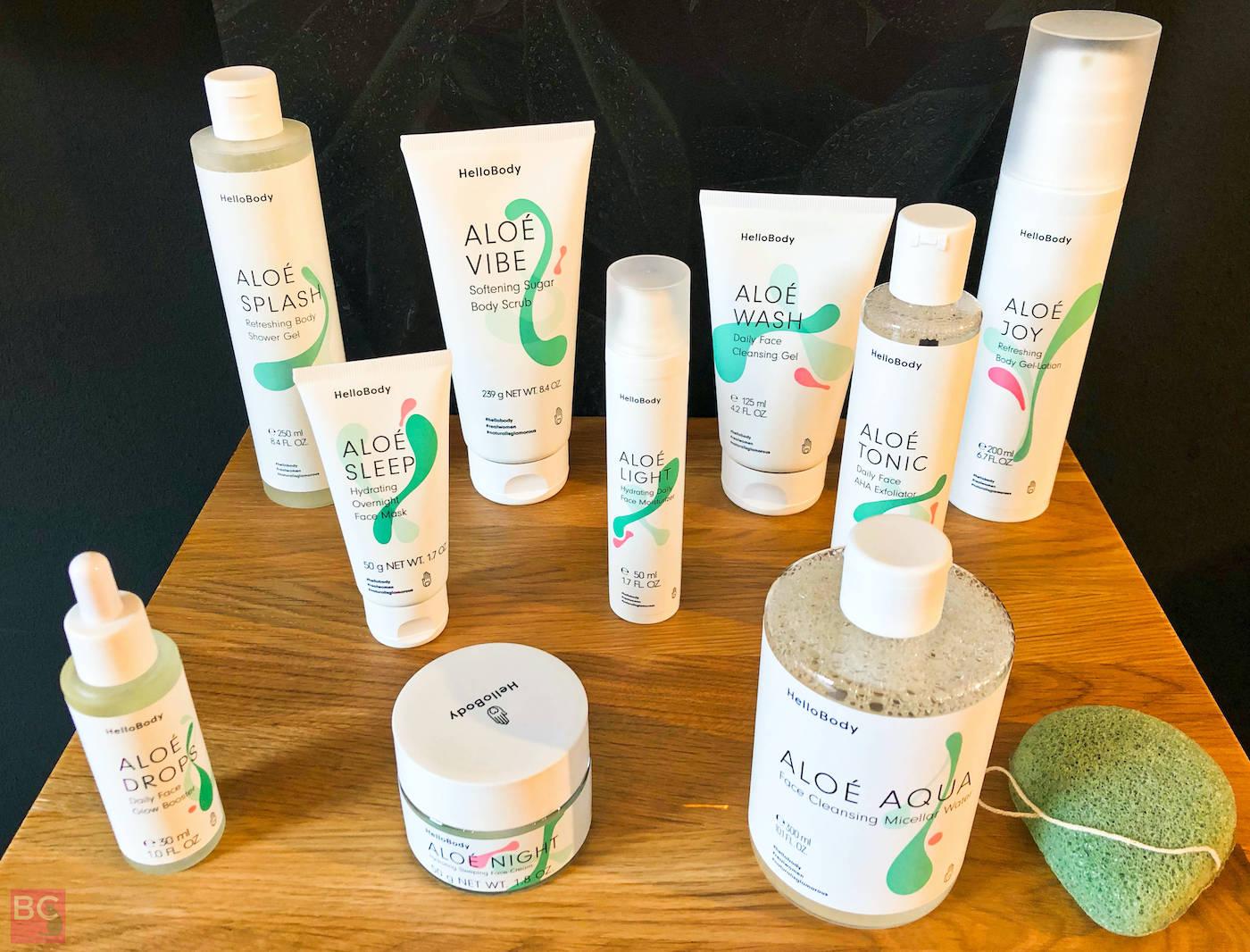 ALOE Hello Body Produkte Erfahrungen Bewertungen