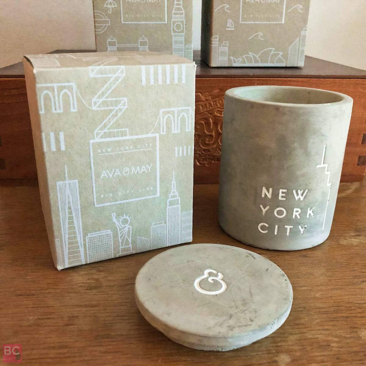 AVA & MAY Betonkerzen New York Erfahrung Bewertung Beton Kerzenhalter
