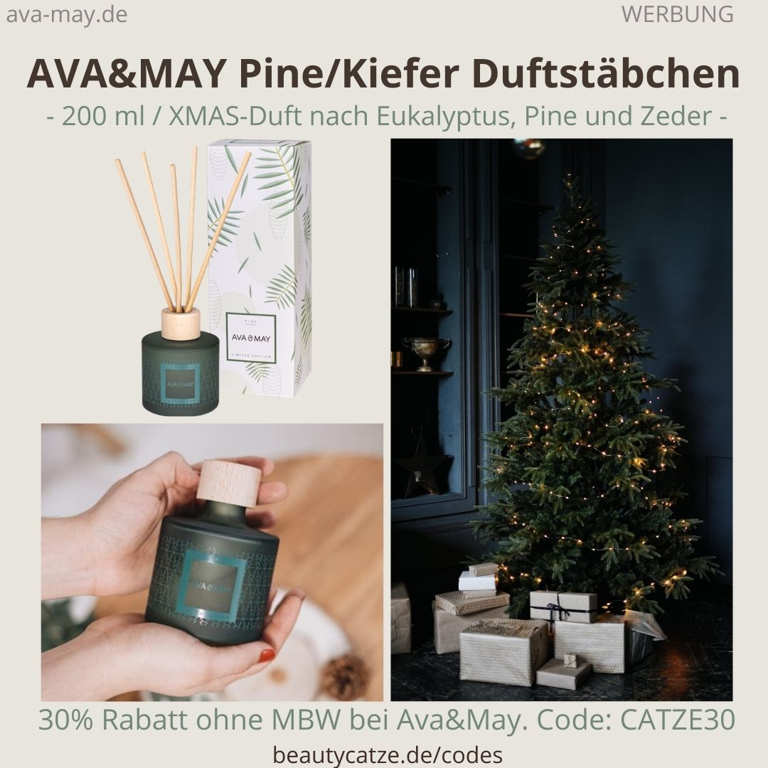 AVA and MAY PINE Kiefer 200ml Duftstäbchen Erfahrungen Ava&May Weihnachten