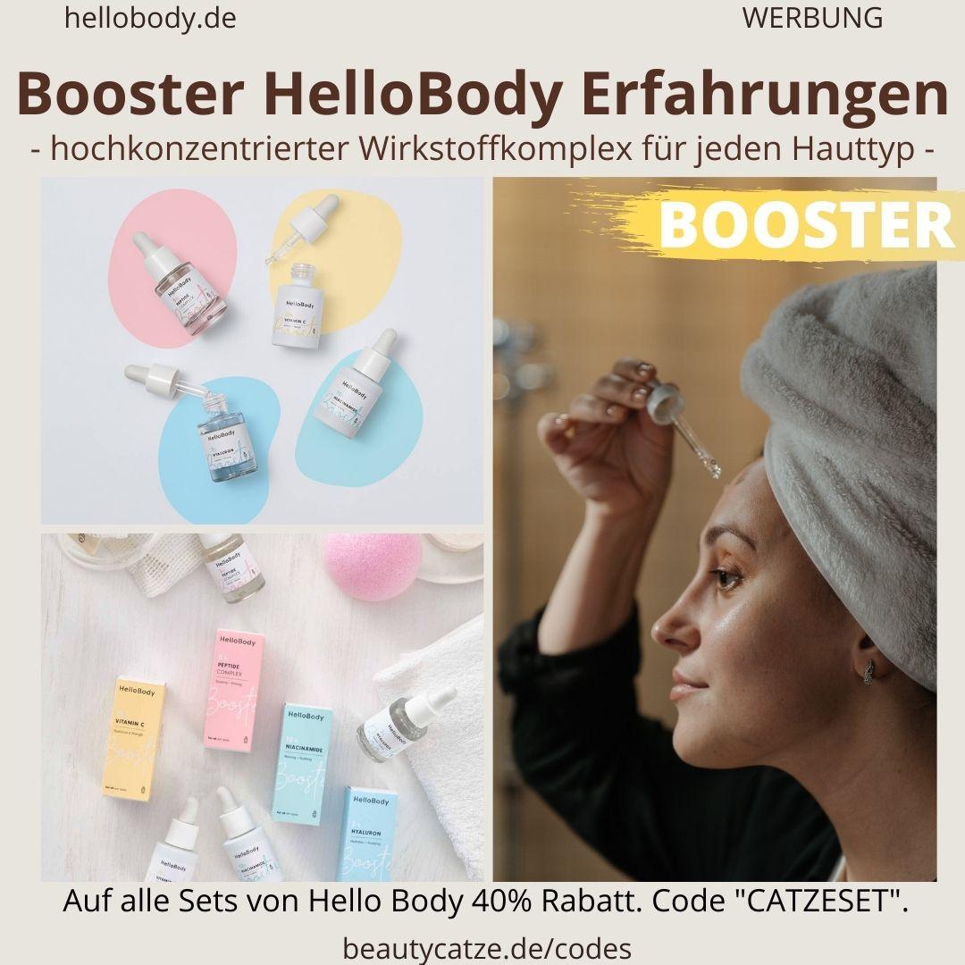 Booster Hello Body Erfahrungen hochkonzentrierter Wirkstoffkomplex Wirkung Bewertungen