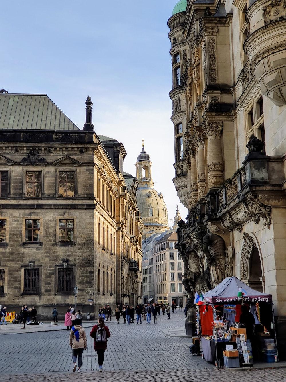 Frauenkirche Dresdener Zwinger Altstadt Sehenswürdigkeiten