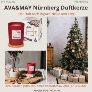 Nürnberg AVA&MAY Duftkerze Erfahrungen 180g Germany Weihnachten Kerze