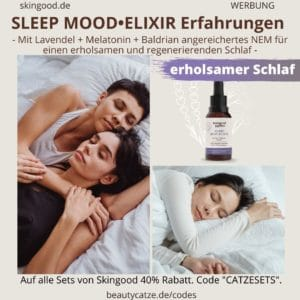 Skingood Garden Erfahrungen SLEEP MOOD Elixir Elixier Tropfen Test Nahrungsergänzungsmittel