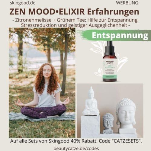 Skingood Garden Erfahrungen ZEN MOOD ELIXIR Serum Tropfen Test Nahrungsergänzungsmittel