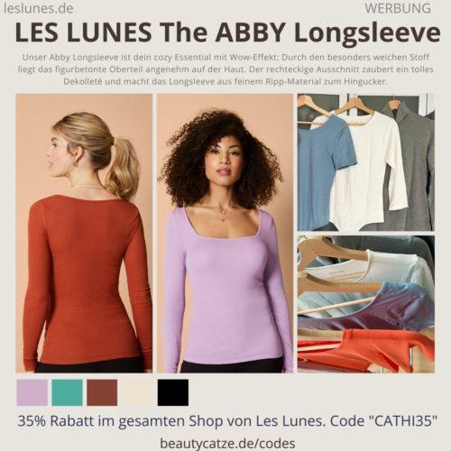 THE ABBY LONGSLEEVE LES LUNES Erfahrungen Details Farben Schnitt