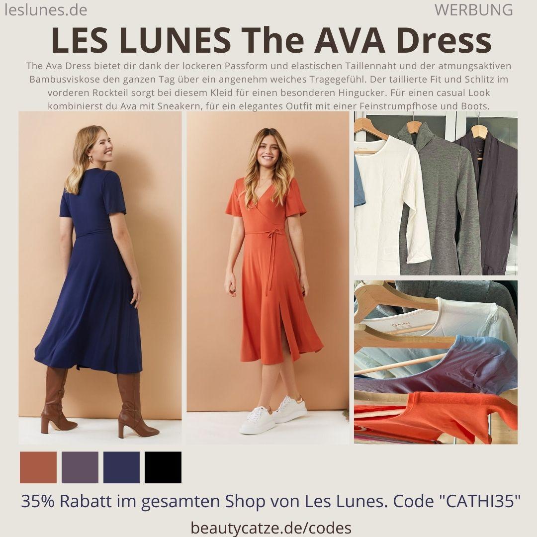 THE AVA Dress LES LUNES Erfahrungen Details Farben