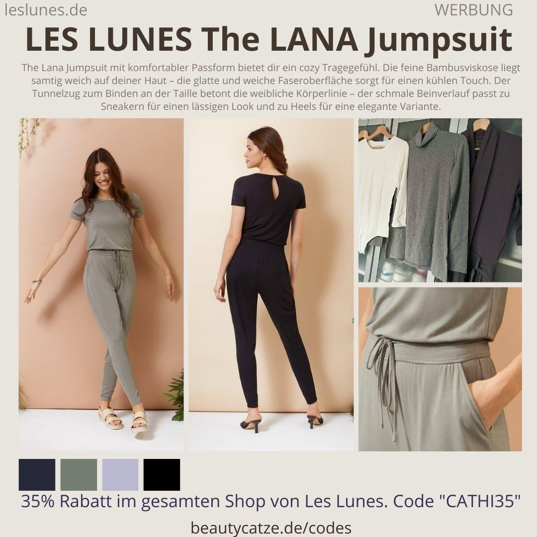 THE LANA JUMPSUIT LES LUNES Erfahrungen Details Farben Schnitt Größen