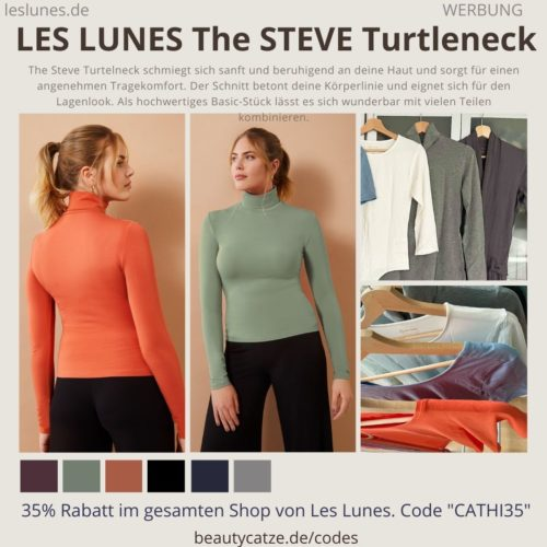 THE STEVE TURTLENECK LES LUNES Erfahrungen Details